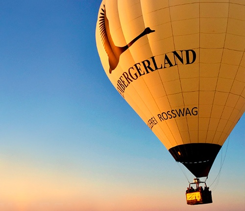 Heißluftballon Lembergerland